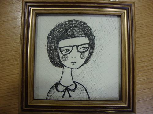 Quiet girl for Winter craft fair in Lewisham