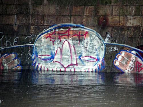 Grafitti in Cardiff.