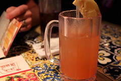 Chilis: Bottomless Strawberry Lemonade