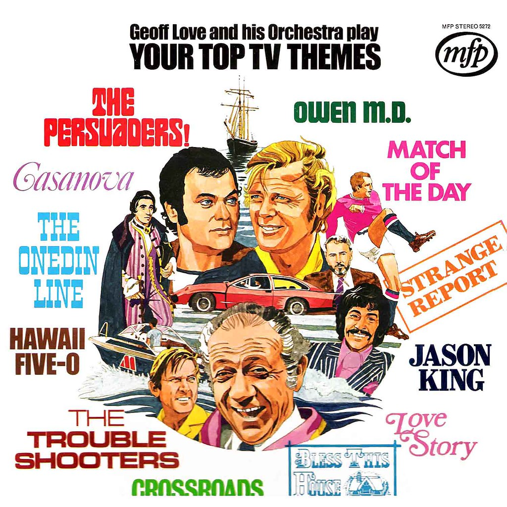 Geoff Love - Your Top TV Themes