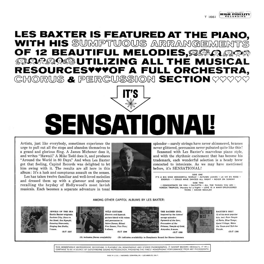 Les Baxter - Sensational