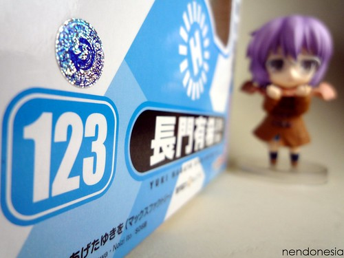 Nagato-chan is looking at her own box