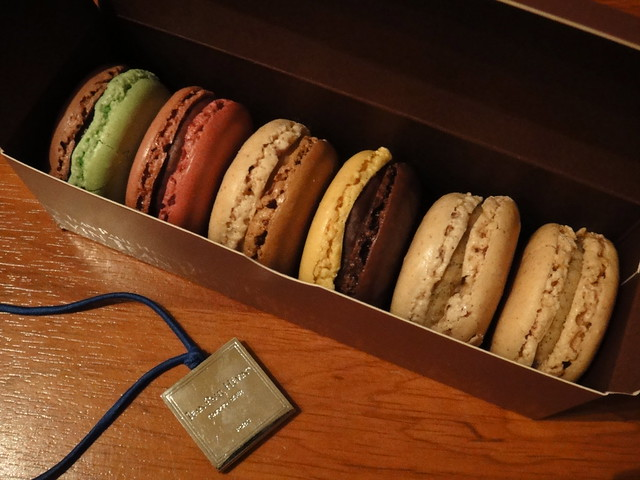 Macarons from Jean-Paul Hévin