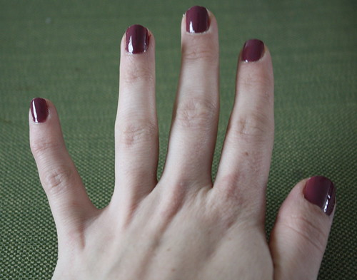 Essie Angora Cardi nail polish