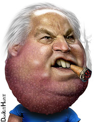 Rush Limbaugh - Caricature