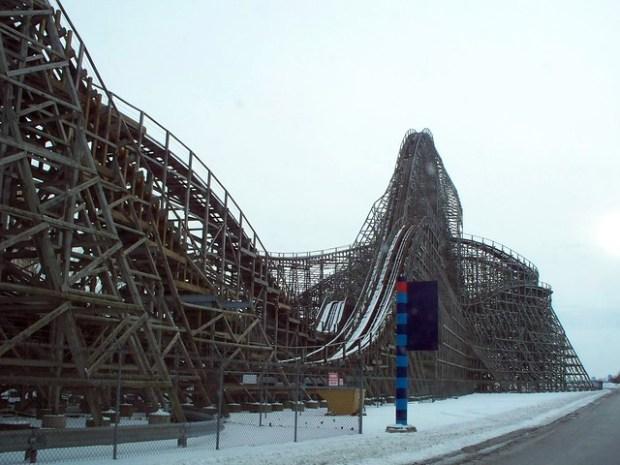 Cedar Point - Off-Season Mean Streak