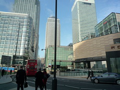 Canary Wharf Buildings