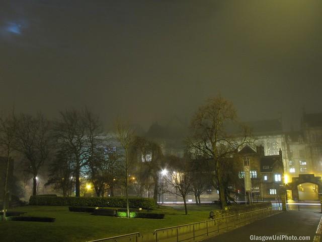 Foggy Campus