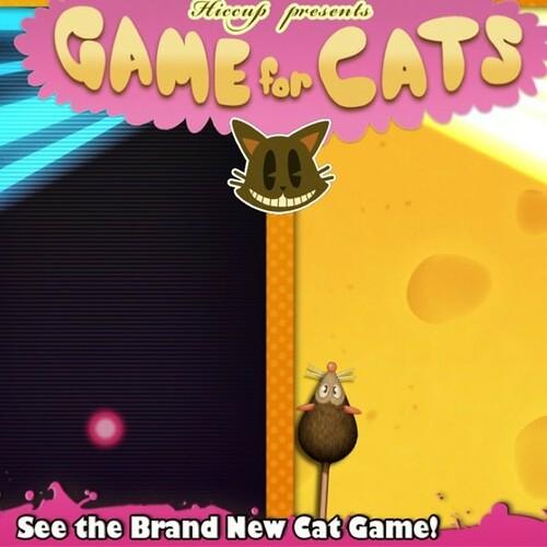 O jogo que os gatos curtem. Não deixe o seu gato jogar sem vc estar por perto.