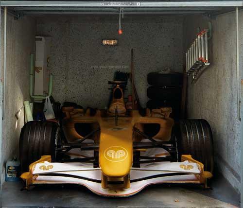 Style your Garage - Rennwagen