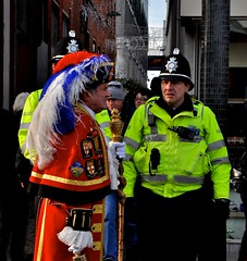 Cops and Town Crier