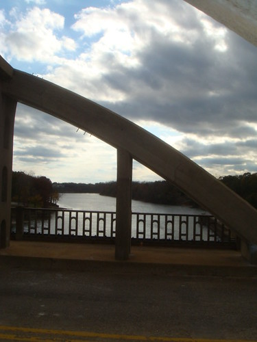 View from Bibb Graves Bridge - Wetumpka Alabama