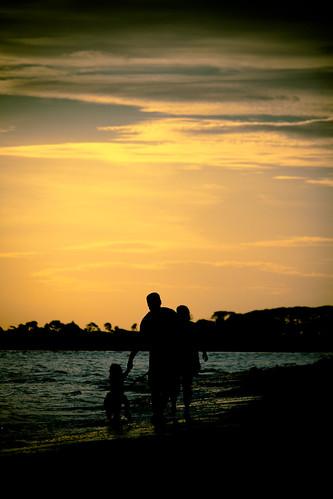 family stroll by Matt Hovey