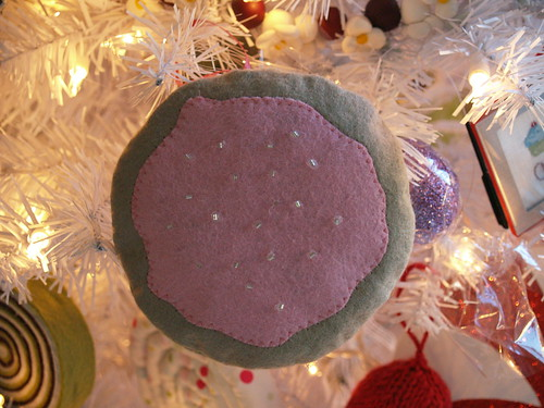 Iced Sugar Cookie Ornament