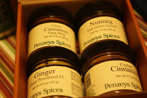 Penzey's Baking spices