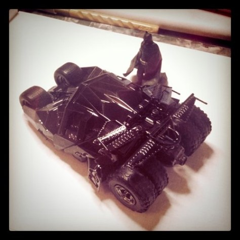 Batmobile w/ batman