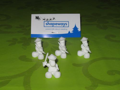 Narizones en impresion 3D con Shpeways