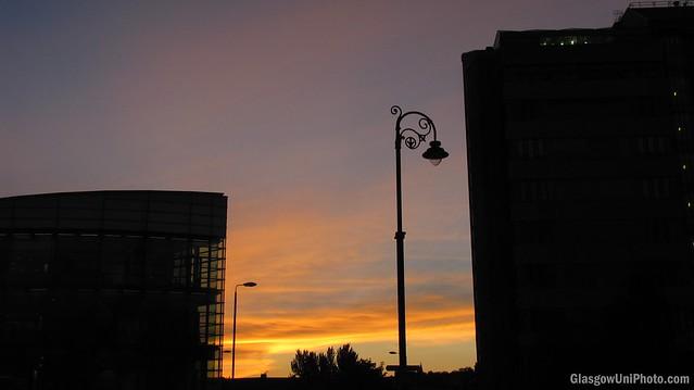 University Avenue Sunset