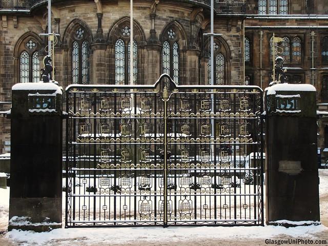 Memorial Snow Gates