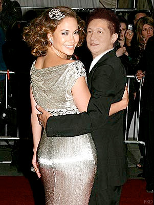 Jonal Chong with Jennifer Lopez