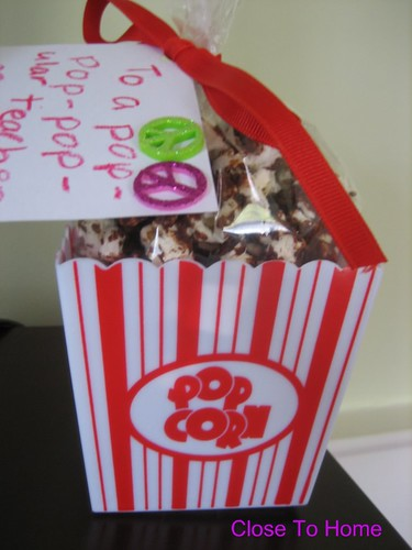 Or These Popcorn Gift Ideas With A Free Printable: