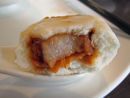 Pork Belly and Taro Buns Innards