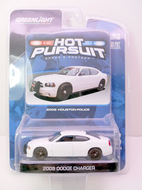greenlight hot pursuit 2008 houston police dodge charger (1)