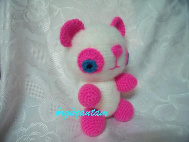 Ravelry: Amigurumi Panda Dondurma Anahtarlık Yapımı pattern by ...   480x640