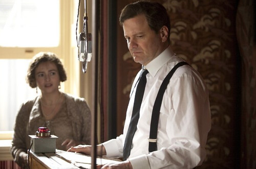 Helena Bonham Carter and Colin Firth in The King's Speech