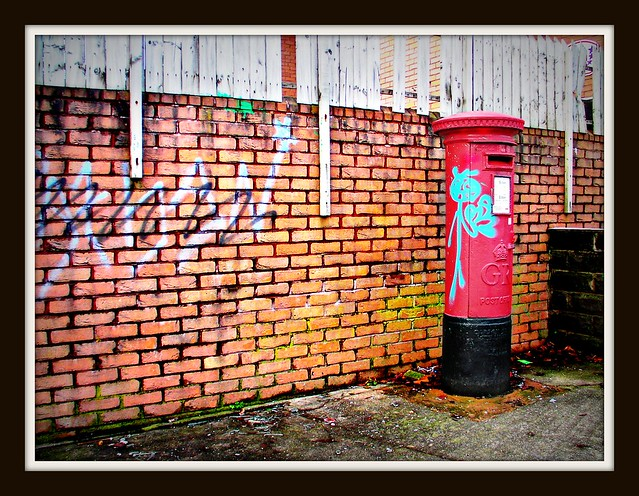 Graffiti in Cardiff.