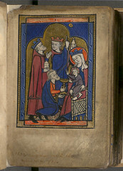 'Adoration of the Magi' - Murthly Hours