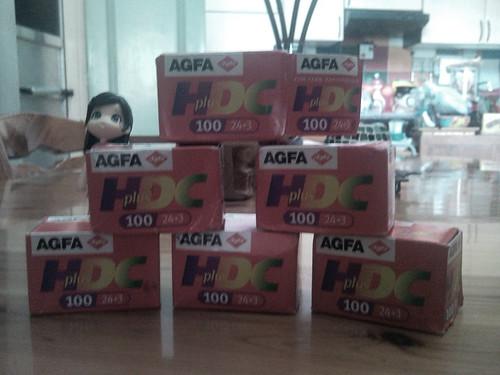 Agfa HDC Plus 100 Films