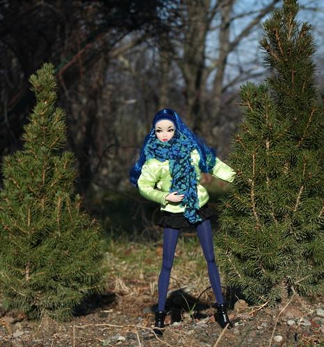 Misaki Chooses a Christmas Tree