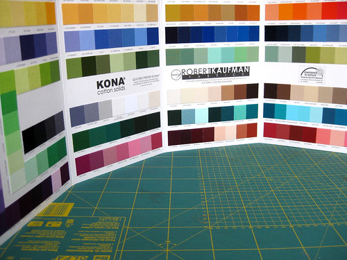 Kona Cotton Color Card