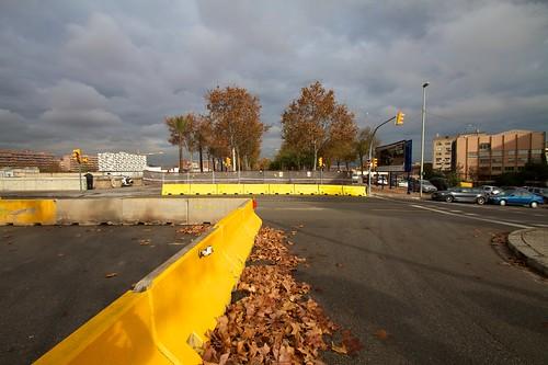Corte en Ronda Sant Martí con Pont del Treball 08- 09-12-10