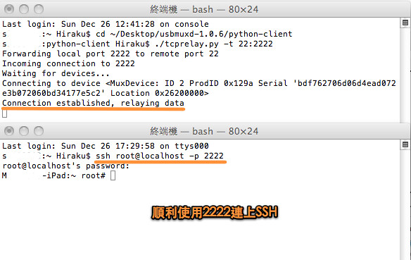 SSH USB