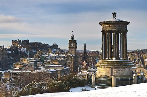 First Edinburgh Snow 2010