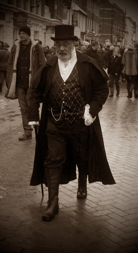 Dickension Festival - Victorian Gent