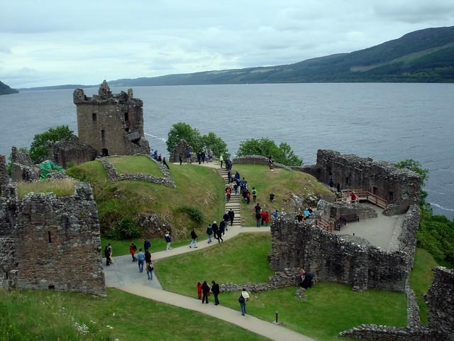 Uquhart Castle - Loch Ness