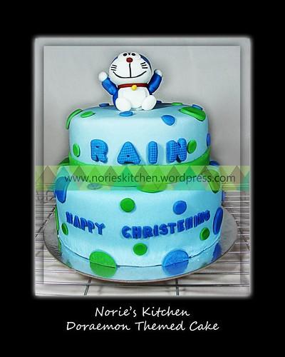 Norie's Kitchen - Doraemon Cake