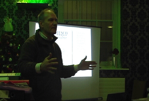 Paul Buckley at Cardiff Science Café Cardiff Gwyddor Science Mark Riley Cardwell Wales Science Environment