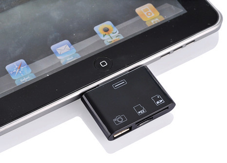 iPad 3-in-1 Camera Connection Kit