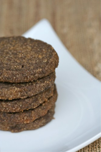 Sugared Buckwheat Shortbread 2