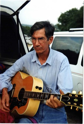 Townes Van Zandt, photographed by my mom, Paulette Van Antwerp