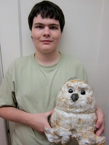 2010 Paul with his owl