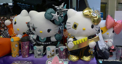 Glam rock Hello Kitty