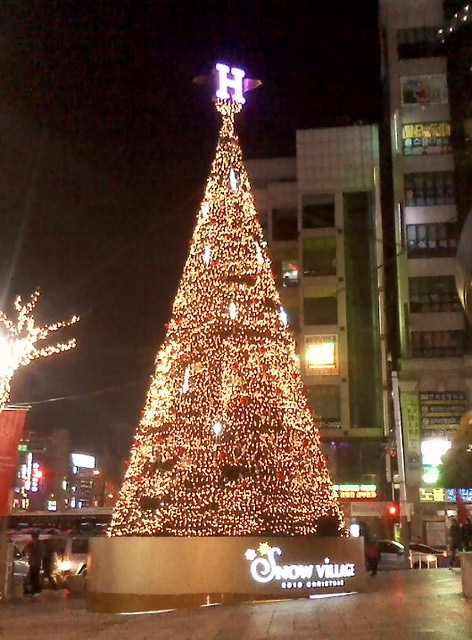 Christmas Lights in Ulsan