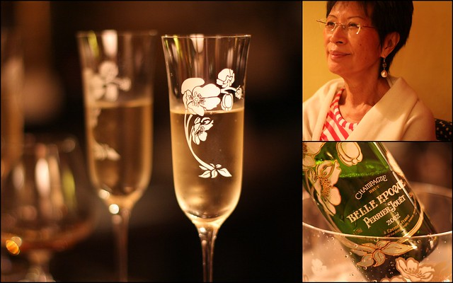 Ricca and Belle Epoque Perrier-Jouet 2002
