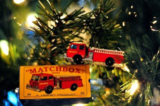 Matchbox Fire Truck