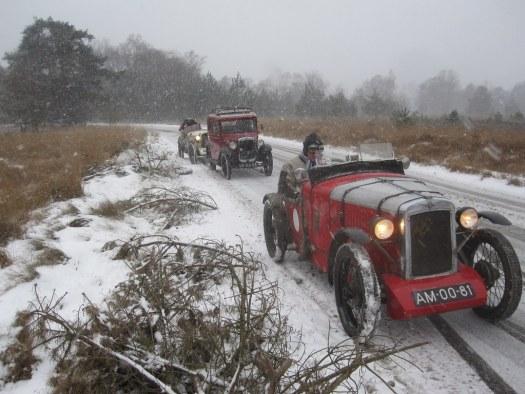 Winters ritje van een paar A7Sers